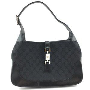 Authentic GUCCI Jackie O black patent bag